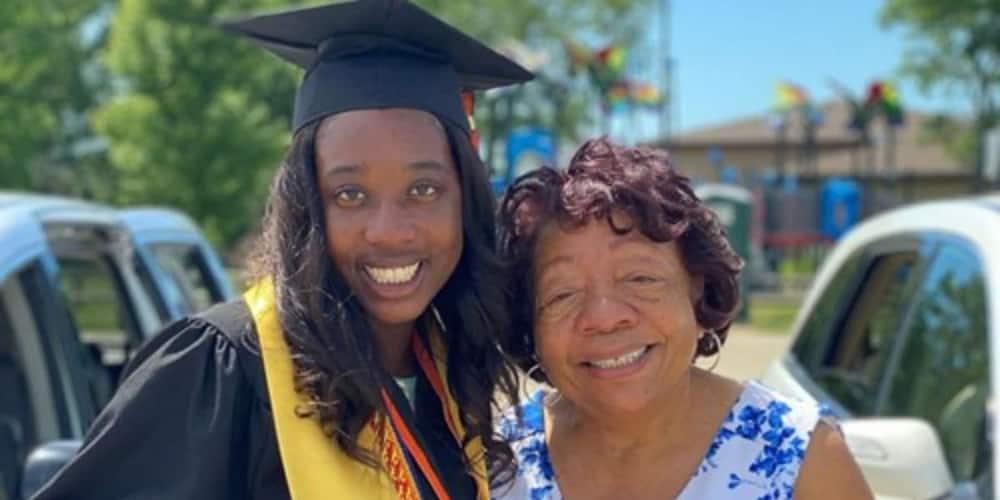 Black teen repeats grandma's history by being 1st female valedictorian in school