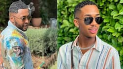 """Lasizwe and Vusi Nova's pic sparks dating rumours: """"You look good together"""""""