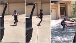 Boy dances to Chris Brown's Go Crazy, many praise his cool moves