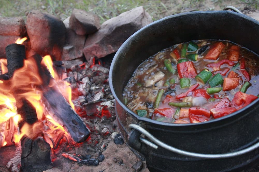 beef and butternut Potjie