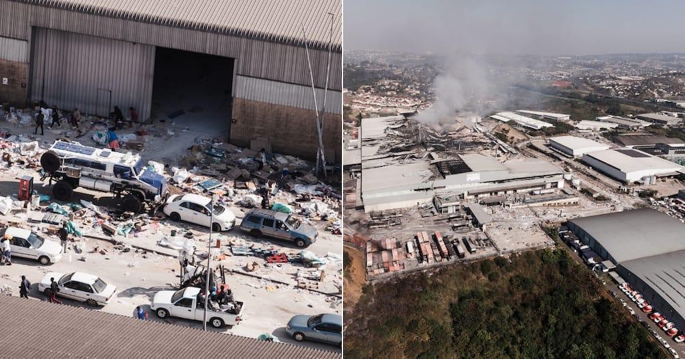 Violent protest, looting, property destruction, Jacob Zuma, KwaZulu-Natal, riots, unrest