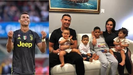 Cristiano Ronaldo flaunts adorable family picture on social media