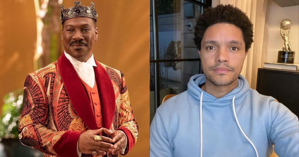 Eddie Murphy Thanks Trevor Noah for His Role in 'Coming 2 America'