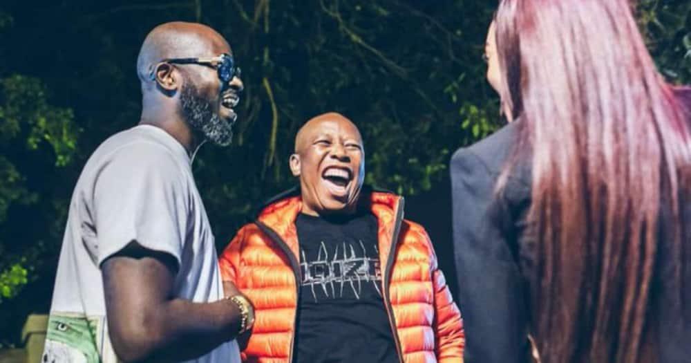 Julius Malema Shares Heartfelt Birthday Message with Black Coffee