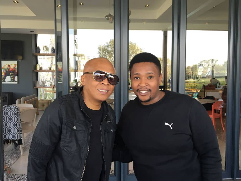 Musa Sukwene and Robbie Malinga