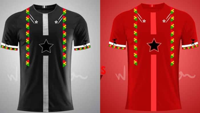Designer creates beautiful Black Stars jerseys ahead of AFCON & World Cup