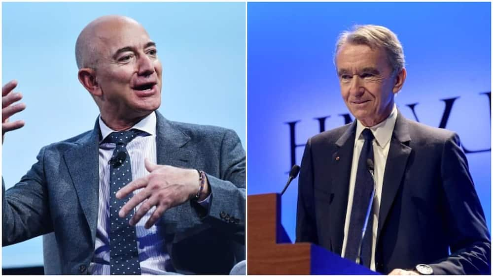 Hours after Jeff Bezos lost position world's richest, he reclaims from Fashion boss