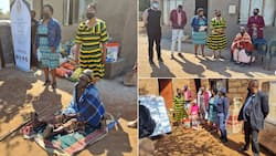 5 families handed food parcels, other donations amid Mpumalanga Speaker's Legacy Project