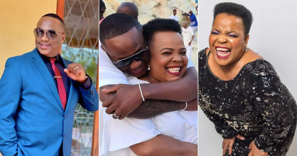 Friendship goals: Jub Jub and Rebecca Malope share cute snap together