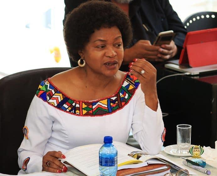 Baleka Mbete latest news