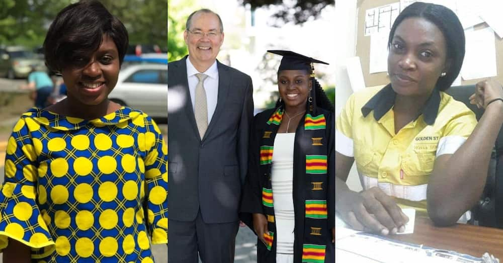 Roselyn Yeboah: Young Ghanaian lady bags master's degree from British Columbia University