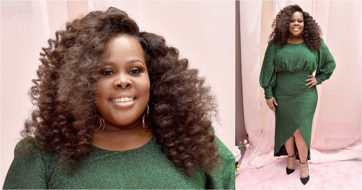 Amber Riley: 'Glee' actress reveals that she recently got engaged