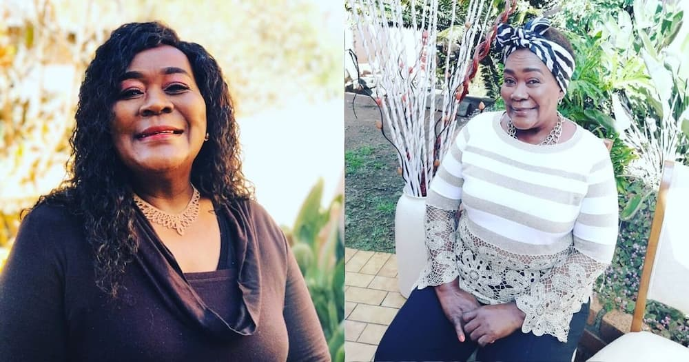 Connie Chiume's celebrating her birthday for the whole month of June