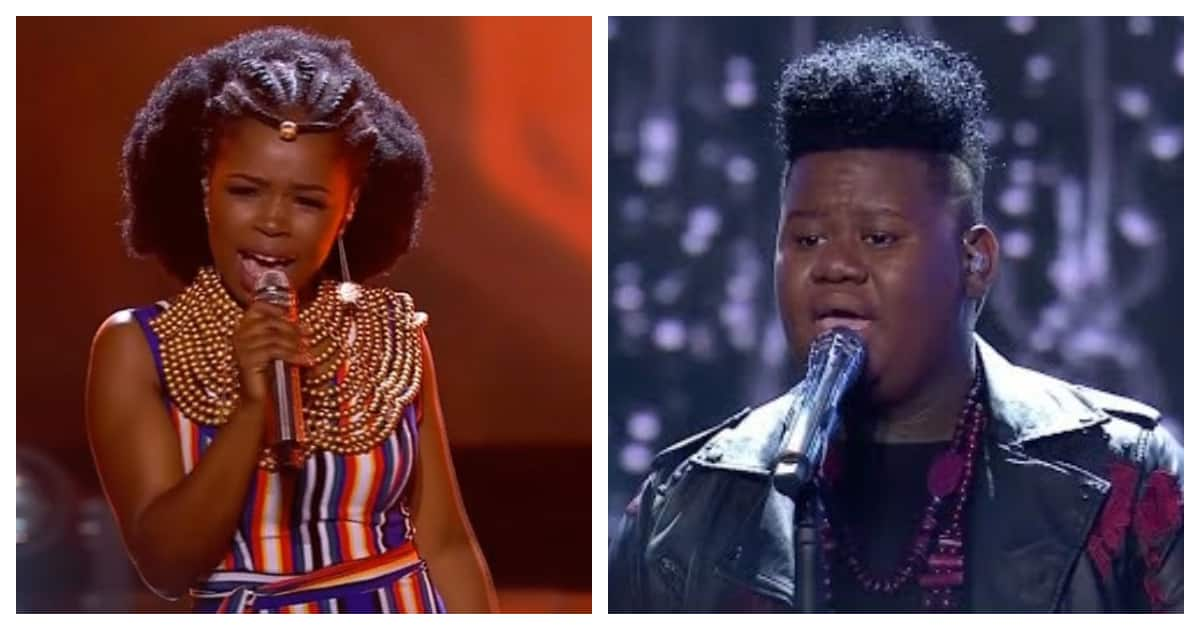 Idols SA: Yanga and King B's performances had tweeps in awe