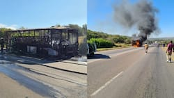 57 passengers injured and six dead after bus catches fire in Tshwane