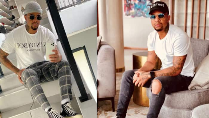 Levelling up: George Lebese gears up to launch his own lux clothing line