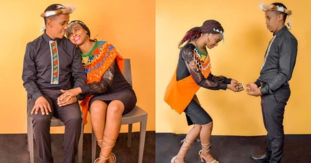 Couple celebrates anniversary with stunning traditional photos