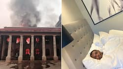 """""""Too soon"""": Student shares pics of how UCT fire started vs how it's going"""