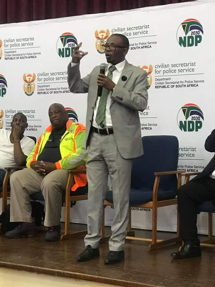 minister of police south africa