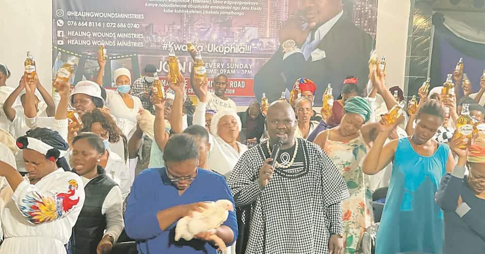 Hebanna: Pastor Uses Chicken Bile and Savannah to Heal His Congregants