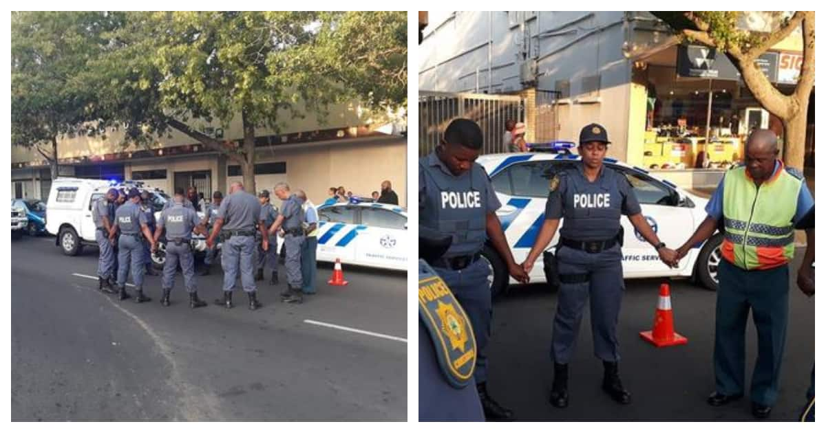 Mzansi cops pray for safety and guidance this festive season
