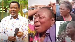 TB Joshua: Photos, video show mourners at Synagogue Church paying last respects