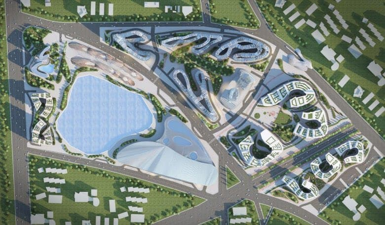 Akon city construction