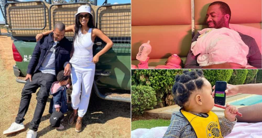 '#GirlDad': Itu Khune Shares Cute Snaps of His Wife & Daughter