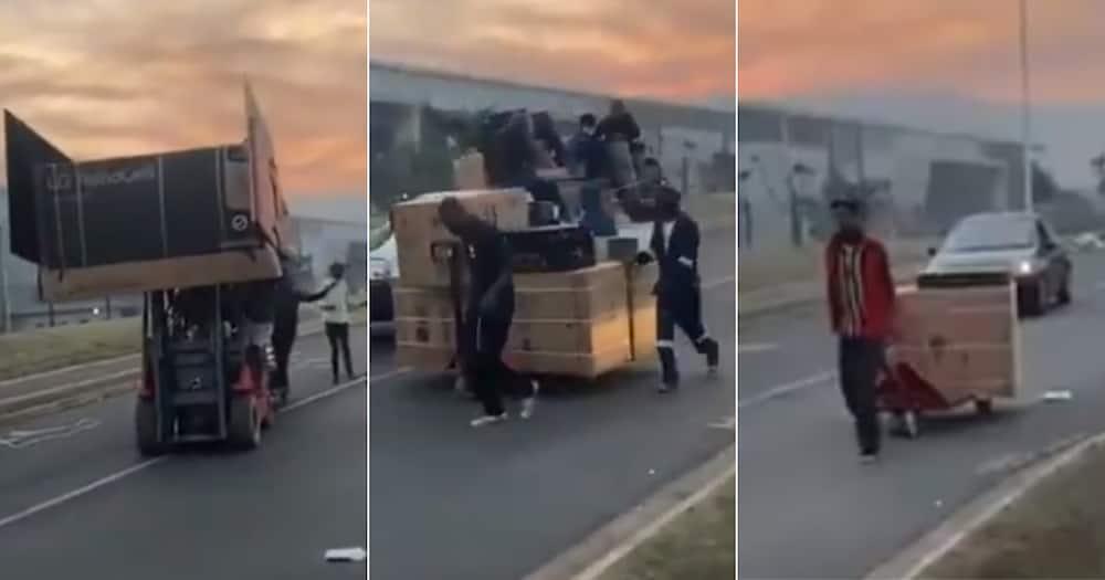 Mzansi, Reacts, Video, People, Looting