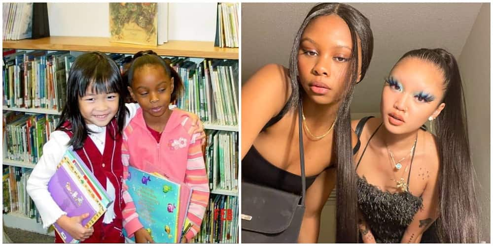 Young Lady Reunites with Her Childhood Bestie after 16 Years, Their Photos Make Many Begin Search for Theirs