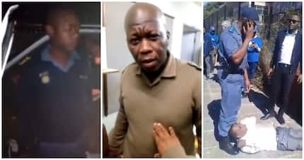 3 videos of South African police officers misbehaving in 2018