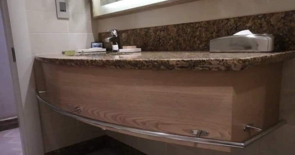 'Gave Me Sleepless Nights': Creepy Coffin-Sink Stirs Up Hilarious Reactions