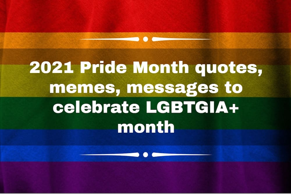 When is gay Pride Month?