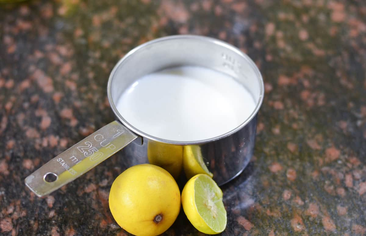 How to make buttermilk at home Buttermilk recipe Buttermilk substitute Sour milk Butter milk