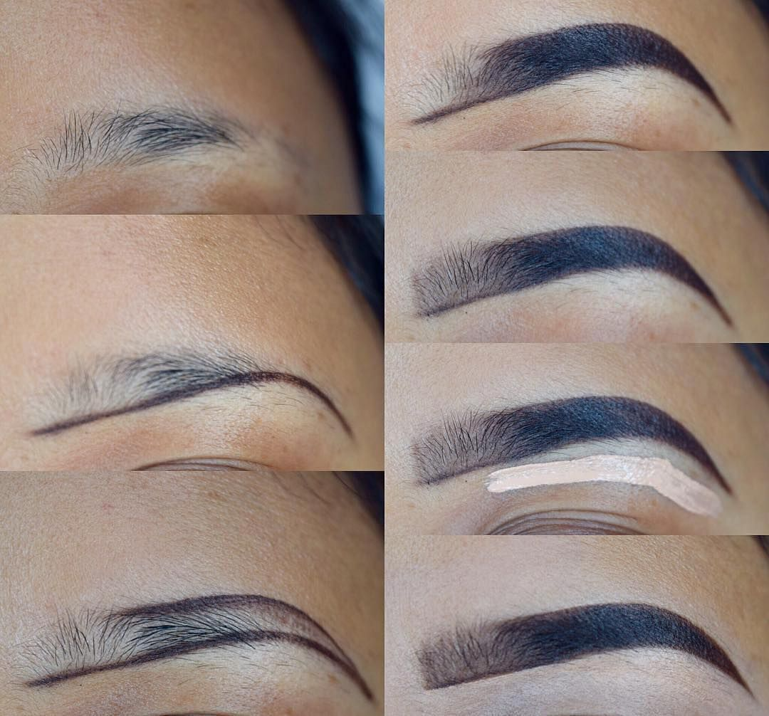 How To Draw Eyebrows Step By Step For Beginners - How to ...
