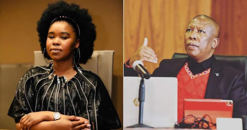 Zahara, EFF, Perform, Manifesto Launch, 2021, Julius Malema, Special Song
