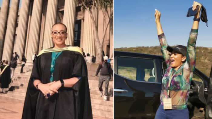 'Congrats': Radio maven Mapaseka Mokwele graduates with master's degree, finally