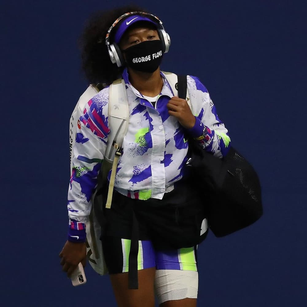 Naomi Osaka Black Lives Matter
