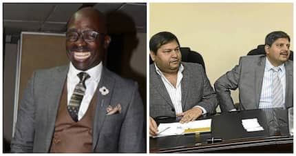 Fact check: Does the Fireblade evidence prove Gigaba was a Zupta soldier?