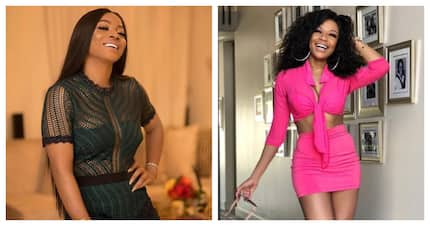 Bonang Matheba and Toke Makinwa's lush friendship is setting #goals