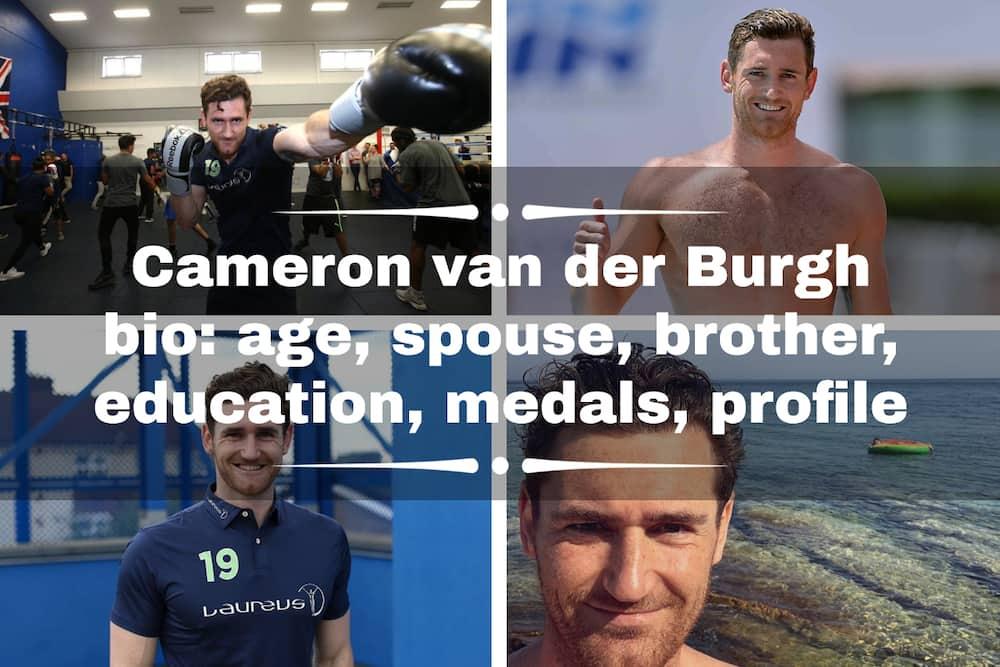 Cameron van der Burgh bio