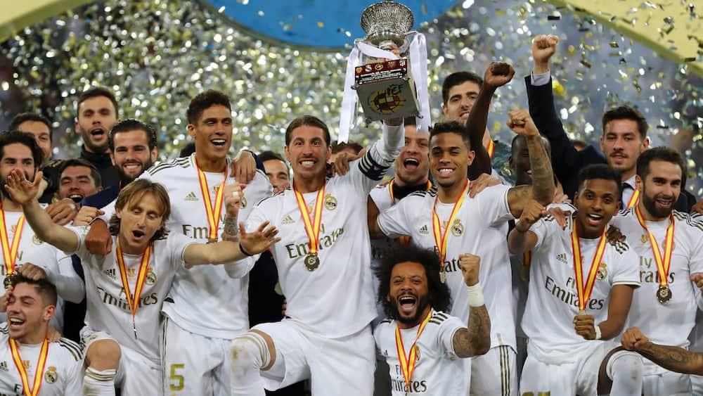Real Madrid profile squad