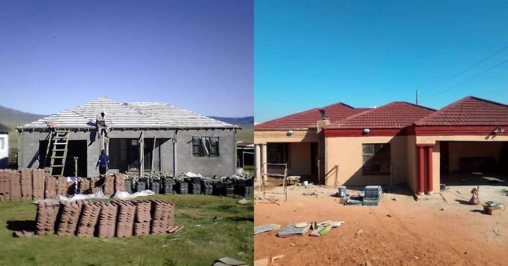 Halala: Man builds mom her dream home