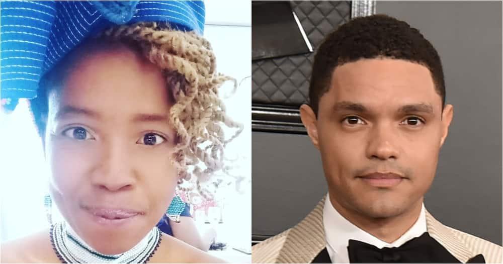 Ntsiki Mazwai accuses of jealousy, Trevor Noah home