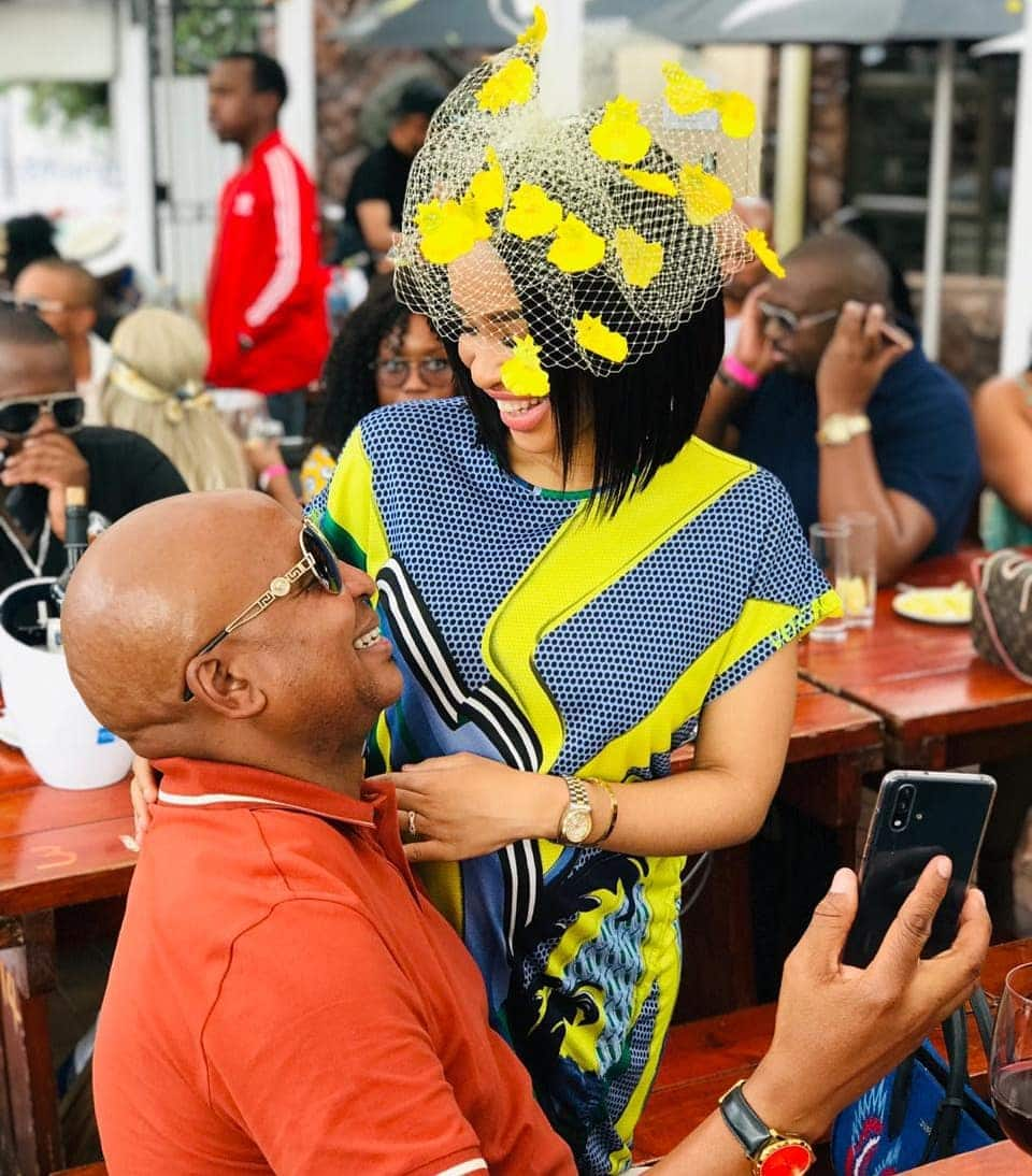 Kenny Kunene wife