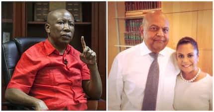 """Intimidation"" of Gordhan by Malema, Shivambu called ""unacceptable"" by Zondo"