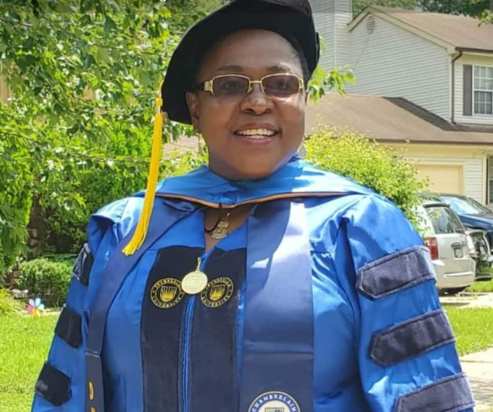 Nigerian woman finally bags PhD after struggling for many years in US