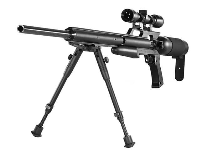 Powerful air rifle
