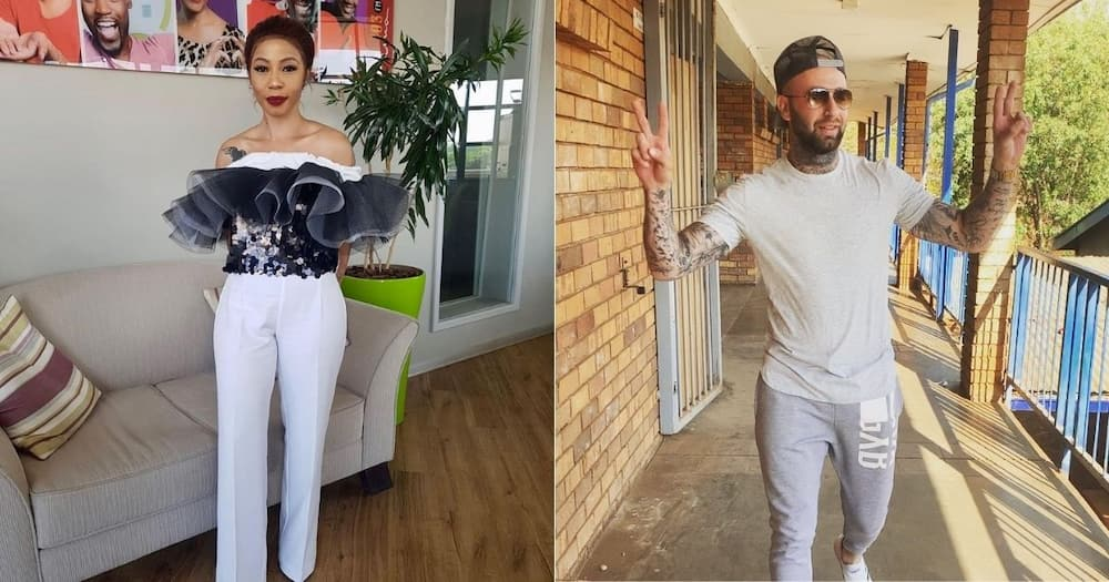 Kelly Khumalo claims she dumped Chad da Don because he was insecure