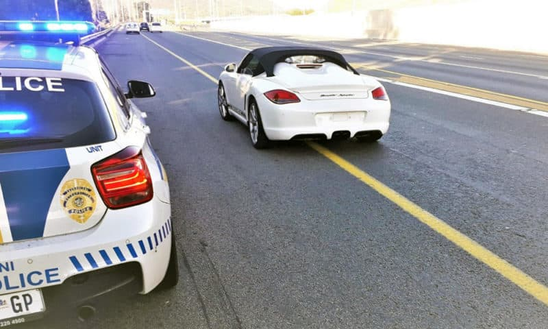 Man arrested for driving 218km/h because he was 'late for golf'